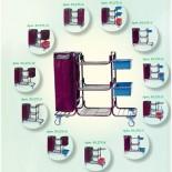 Гостиничная тележка для горничной КАБРИОЛЕТ (на выбор 12 комплектаций)