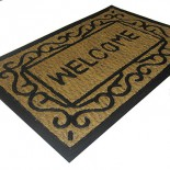 Входной кокосовый коврик Welcome
