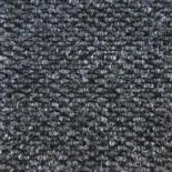 Грязезащитный ворсовый ковер York черный, серый и коричневый