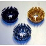 Круглая вставка-щетка для ячеистых покрытий