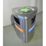 Урна для раздельного сбора отходов на фудкорте Айсберг