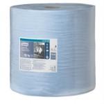 Tork протирочная бумага суперпрочная в рулоне голубая
