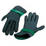 Неопреновые перчатки для надежного удержания телескопической ручки для мытья окон