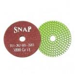 Комплект алмазных дисков для полировки бетонных полов (10 шт.) 3000GRIT