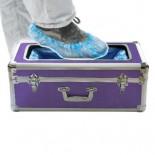Аппарат для надевания бахил фиолетовый