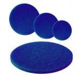 Синий размывочный круг (пад)