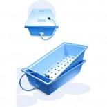 КДС-35, контейнер для стерилизации с боковым сливом