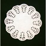 Салфетка кружевная бумажная диаметр 90мм