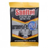 Средство для чистки труб Санитол 90гр
