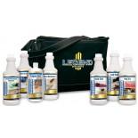 LEGEND BRANDS набор пятновыводителей для специалиста клининга 7 средств и сумка