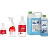 DESO GRASS нейтральное средство для дезинфекции поверхностей и ПСО