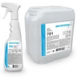ИНТЕРХИМ 701 средство для очистки стеклянных и хромированных поверхностей
