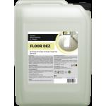 FLOOR DEZ беспенное моющее средство с дезинфицирующим эффектом для уборки полов 5л