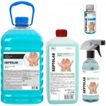 SEPTOLAB (СЕПТОЛАБ) антисептик для рук жидкость-санайзер 65% спирта
