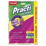 Салфетки из микрофибры для уборки Paclan на выбор несколько вариантов