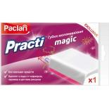 Губка меламиновая Paclan Practi Magic 110*70*22 мм