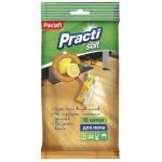 Влажные салфетки для пола Paclan 50х36 см, 10 шт/упак.