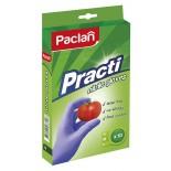 Перчатки нитриловые неопудренные Paclan, цена за упак.