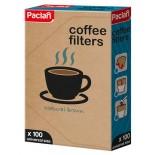 Кофейный фильтр натурального коричневого цвета Paclan