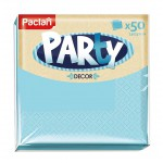 Салфетки бумажные двухслойные 24*24 см Paclan Party