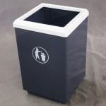 Урна с внутренним контейнером для мусора Лукойл