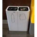 Урна для раздельного сбора мусора 2 секции А-Тренд