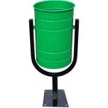Вкапываемая уличная урна Кубок 21 литр
