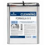 FORMULA X-5 универсальное чистящее средство на основе растворителей