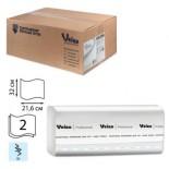 Бумажные полотенца W-сложения Veiro Professional Comfort KW208