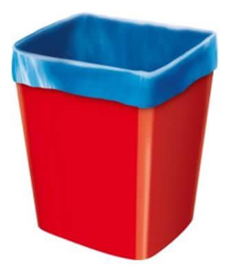 горловина мешка для мусора